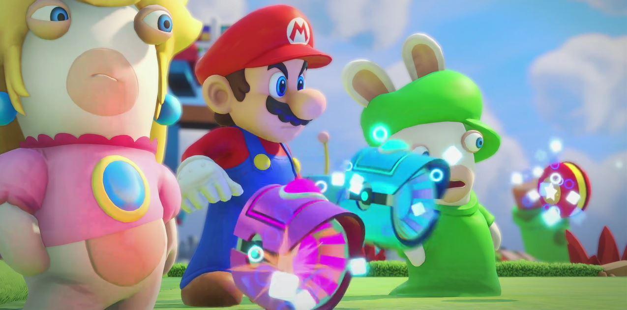 Les Lapins Crétins Et Mario S Affrontent Dans Mario Rabbids Le