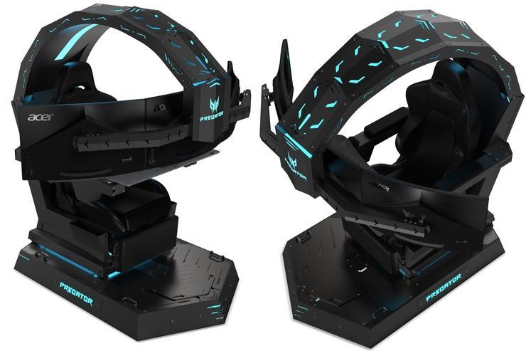 Predator Thronos Le Cockpit Gaming Du Futur Pr 233 Sent 233