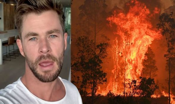 Incendies en Australie : Chris Hemsworth donne un million de dollars
