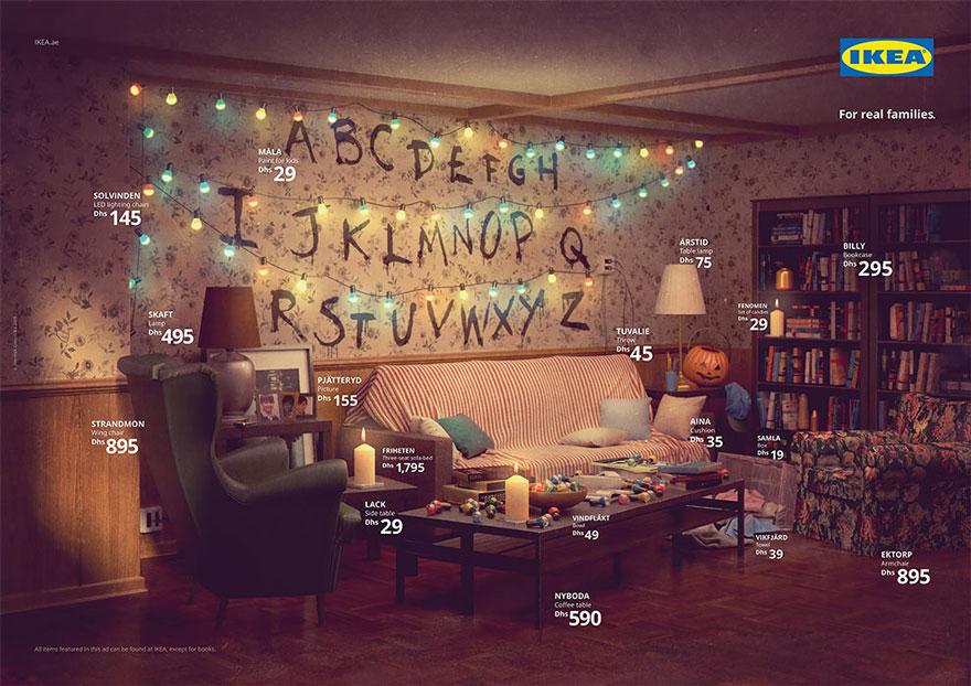 IKEA reproduit les salons iconiques de plusieurs séries TV