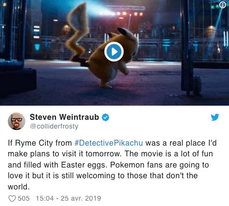 Détective Pikachu Voici Ce Qu En Pense La Presse Américaine