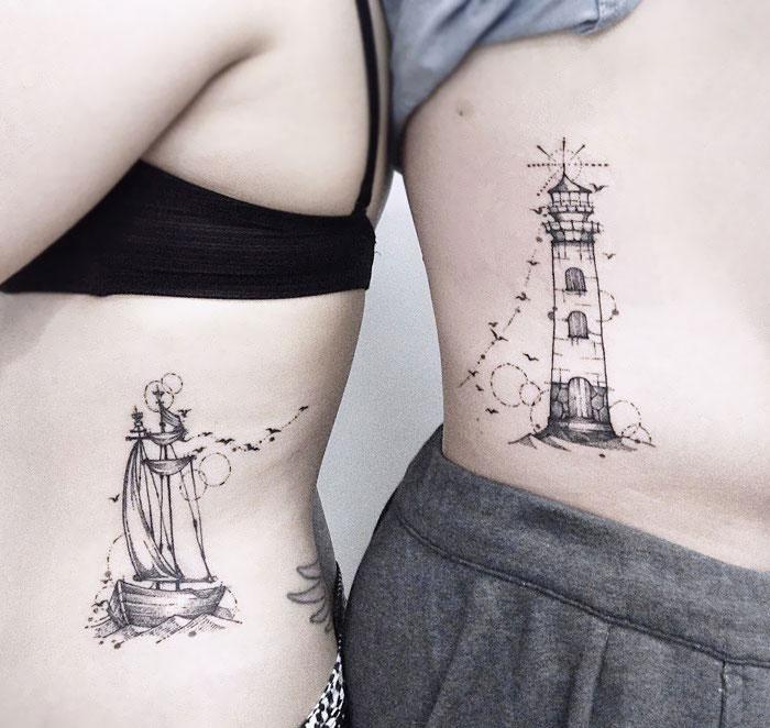 50 Tatouages Assortis Originaux Et Vraiment Geniaux