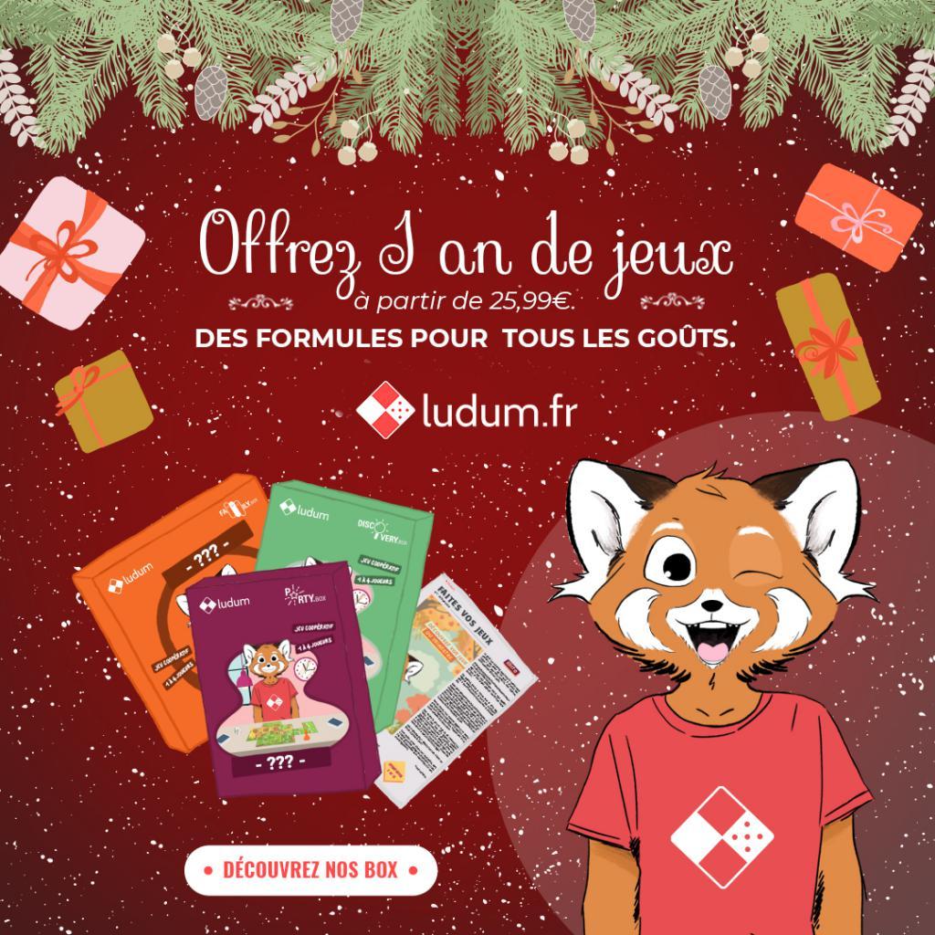 Idée De Jeux En Famille Pour Noel ludum : quand le jeu de société devient un cadeau original