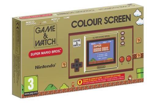 Précommandez le Game & Watch: Super Mario Bros. pour 49,99 euros