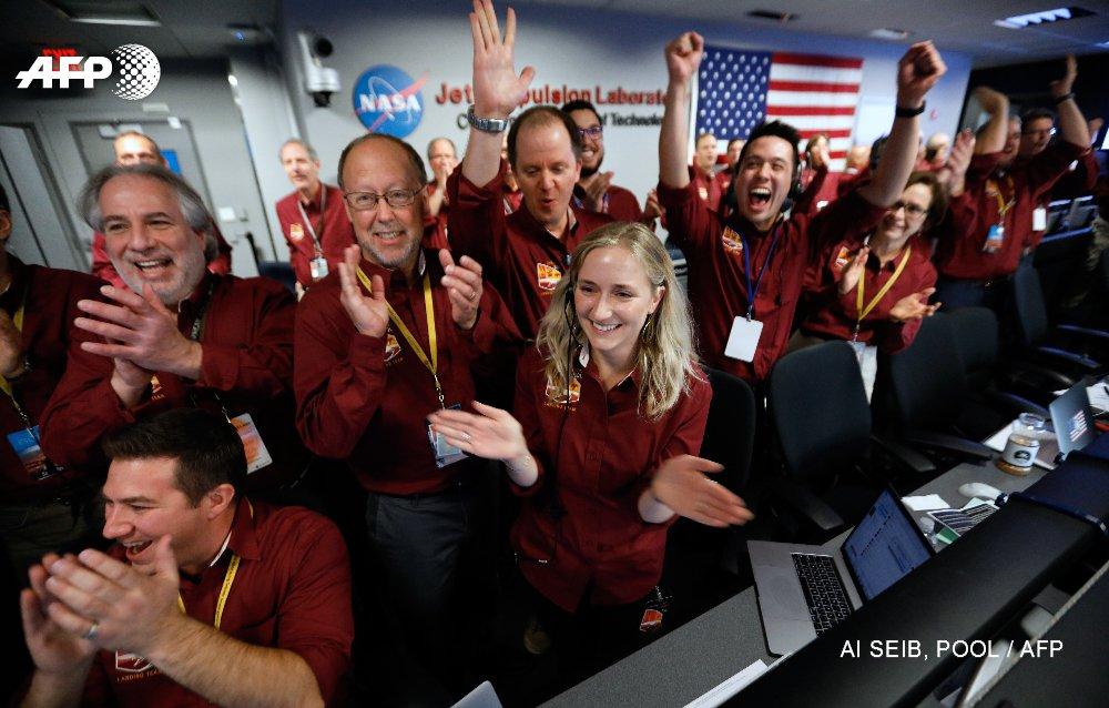 Suivez en direct l'atterrissage de la sonde InSight sur la planète Mars
