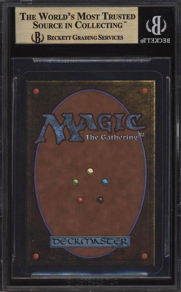 Carte Magic Black Lotus Prix.Magic Une Carte Lotus Noir Vendue A Un Prix Exorbitant Sur