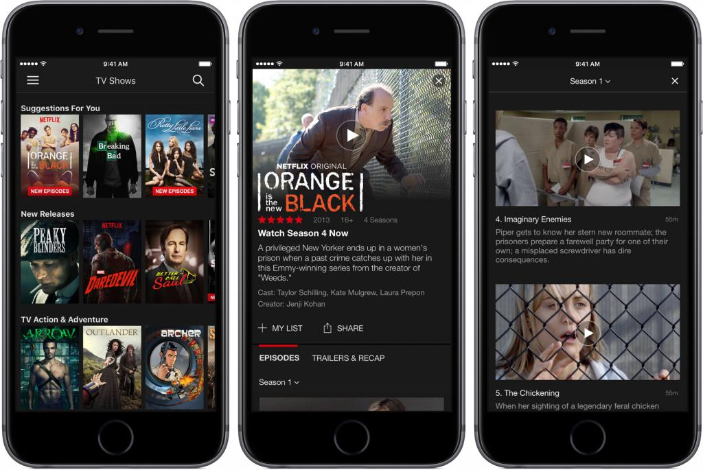 Il n'est plus possible de s'abonner à partir de son iPhone — Netflix