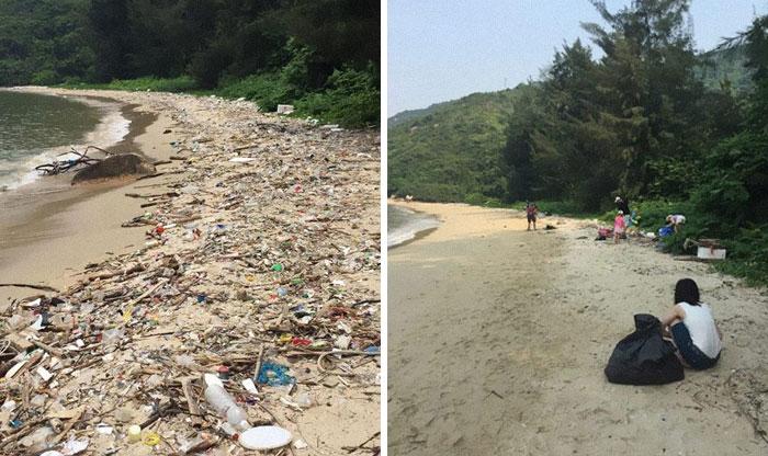 #Trashtag Challenge : le nouveau défi écolo qui pousse les millennials à nettoyer des espaces pollués