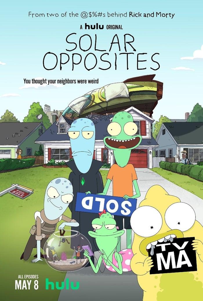 Solar Opposites S01E01 Online