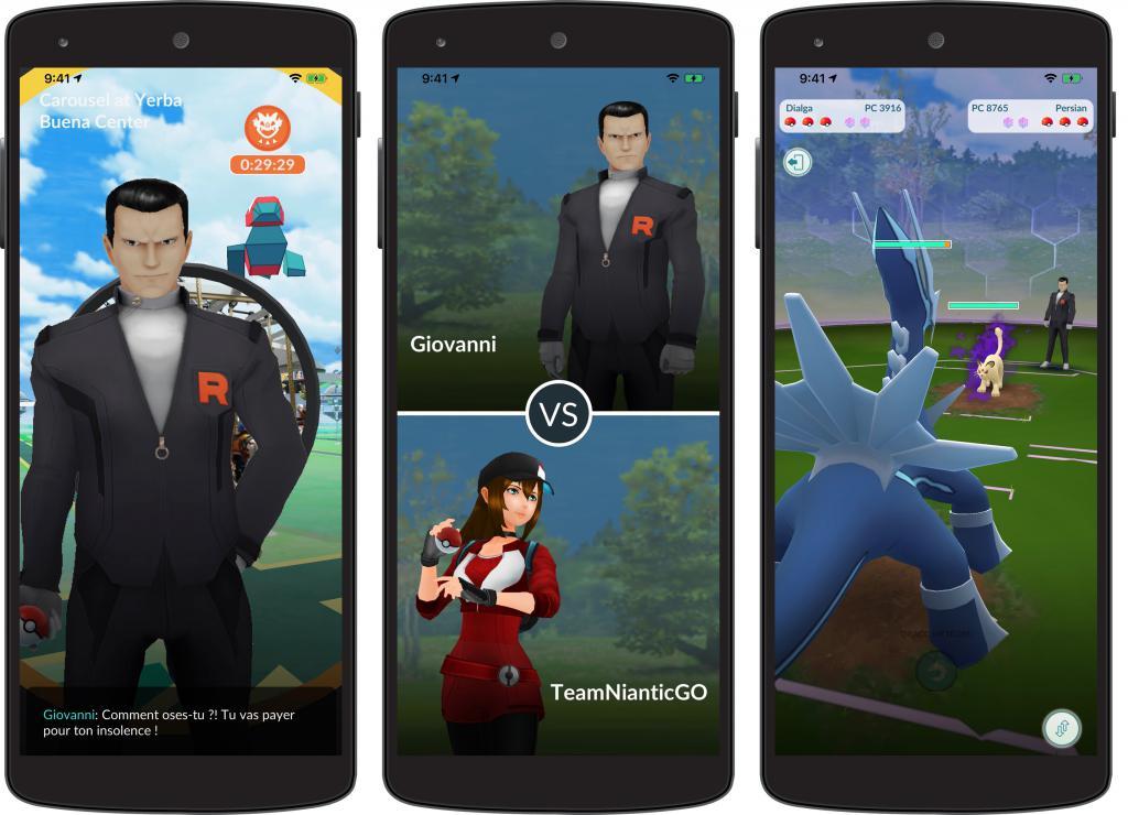 La Team Rocket est de retour avec une étude spéciale — Pokémon GO