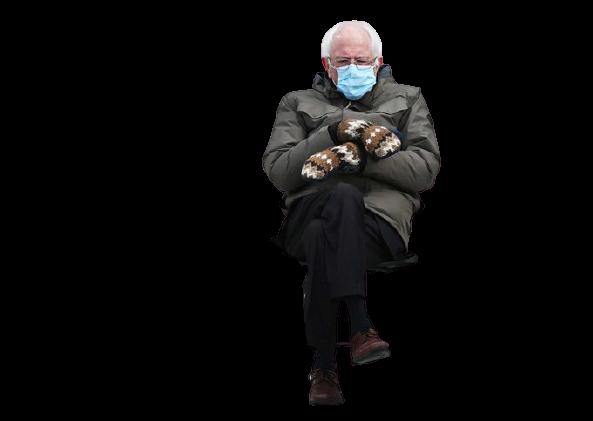 Bernie Sanders became the new meme of 2021 (25 pics)