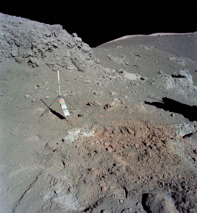 Une substance inconnue découverte sur la face cachée de la Lune