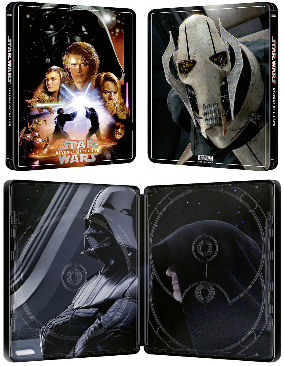 Pre Order The Magnificent Star Wars Steelbook Episode Iii Revenge Of The Sith