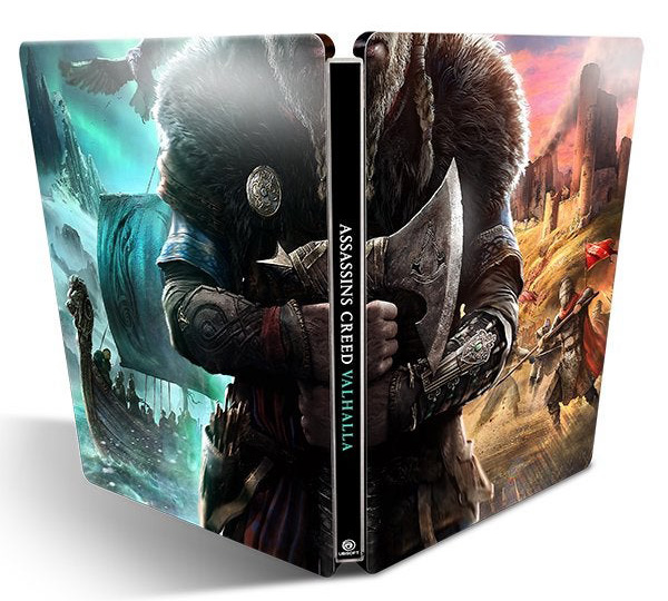 The Assassin S Creed Valhalla Steelbook Case Is Free We Ll
