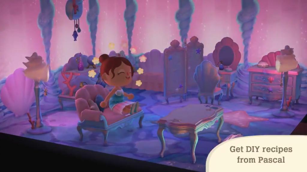 Vous pourrez faire des plongeons dans Animal Crossing : New Horizons !